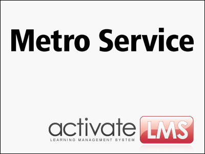 Activate LMS og Metro Service